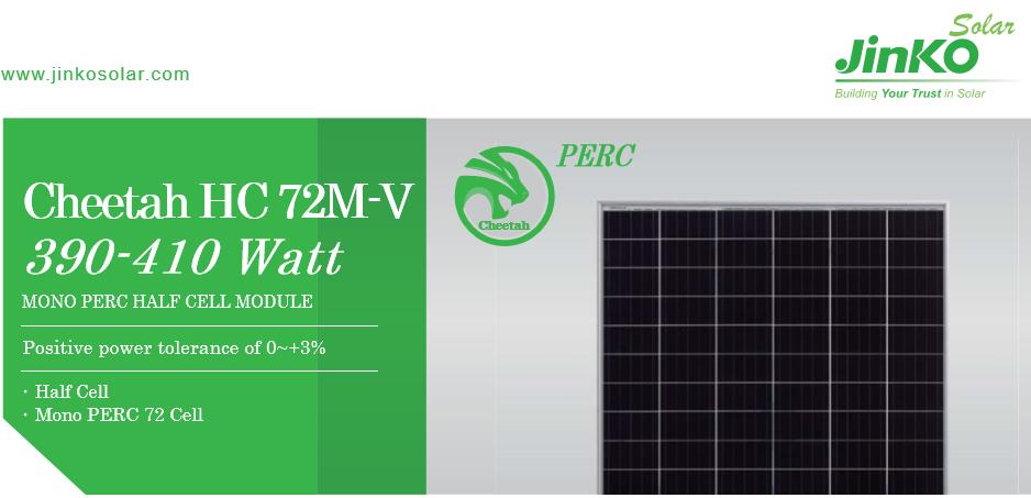 Tấm pin năng lượng mặt trời - JINKO 405W