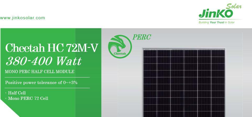 Tấm pin năng lượng mặt trời - JINKO 400W